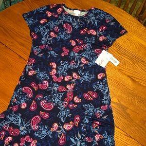 Small LuLaRoe Maria Maxi Dress